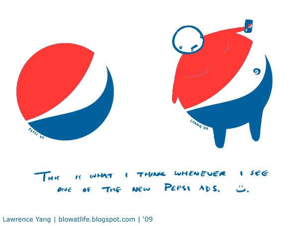 Pepsi Logo - a responce