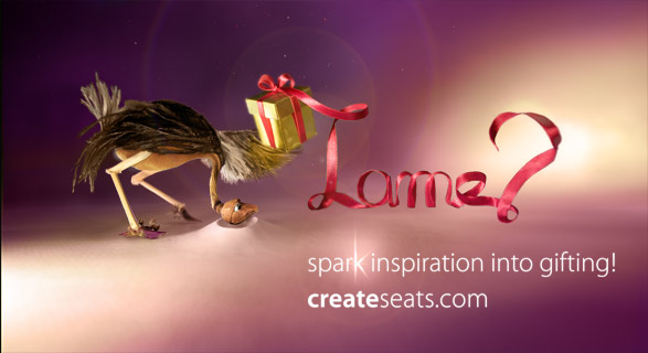 """lamiss"" the lame ostrich. the making of createseats"
